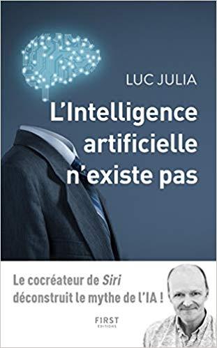Un excellent livre de Luc Julia, le co-inventeur de Siri
