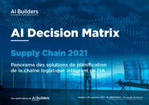 AI Decision Matrix Supply Chain 2021