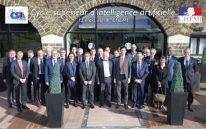 Conférence au Centre des Hautes Etudes du Ministère de l'Intérieur CHEMI
