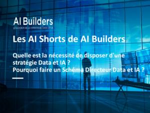 Pourquoi faire un Schéma Directeur Data et IA ? #AIShorts